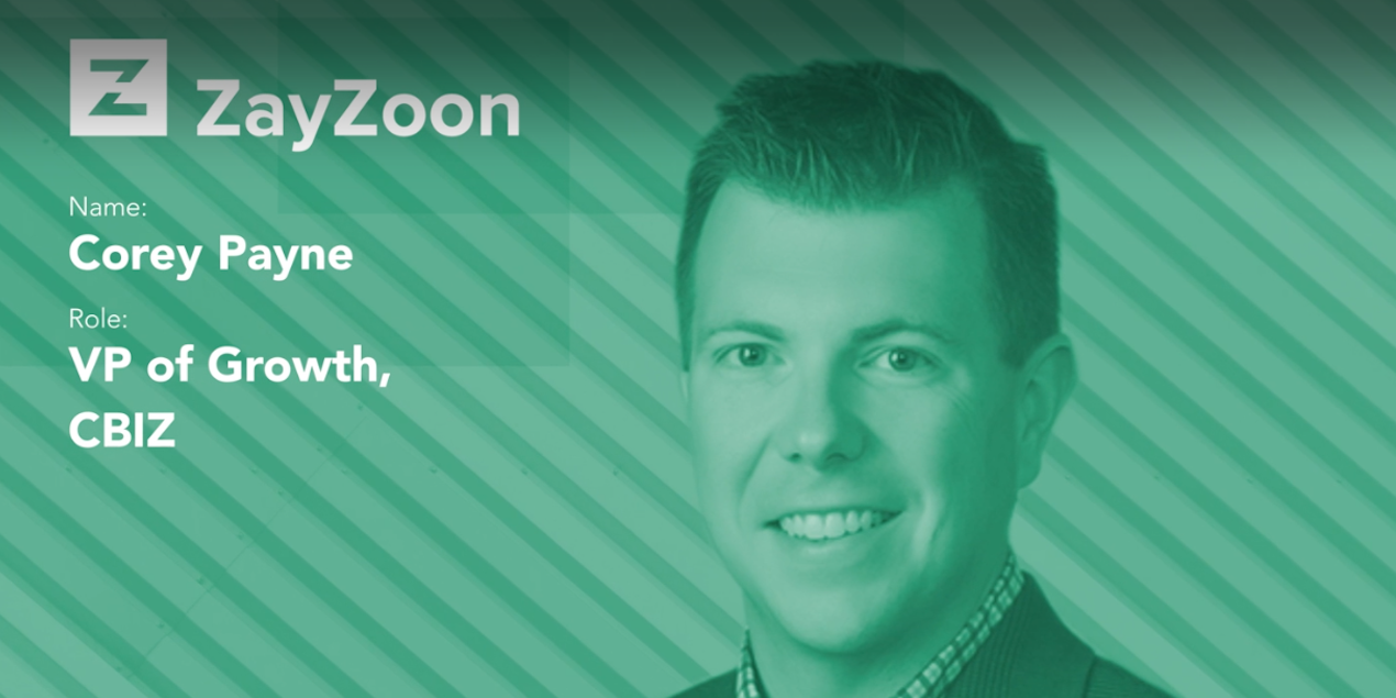 CBIZ Partners with ZayZoon: Interview w/ VP of Growth Corey Payne