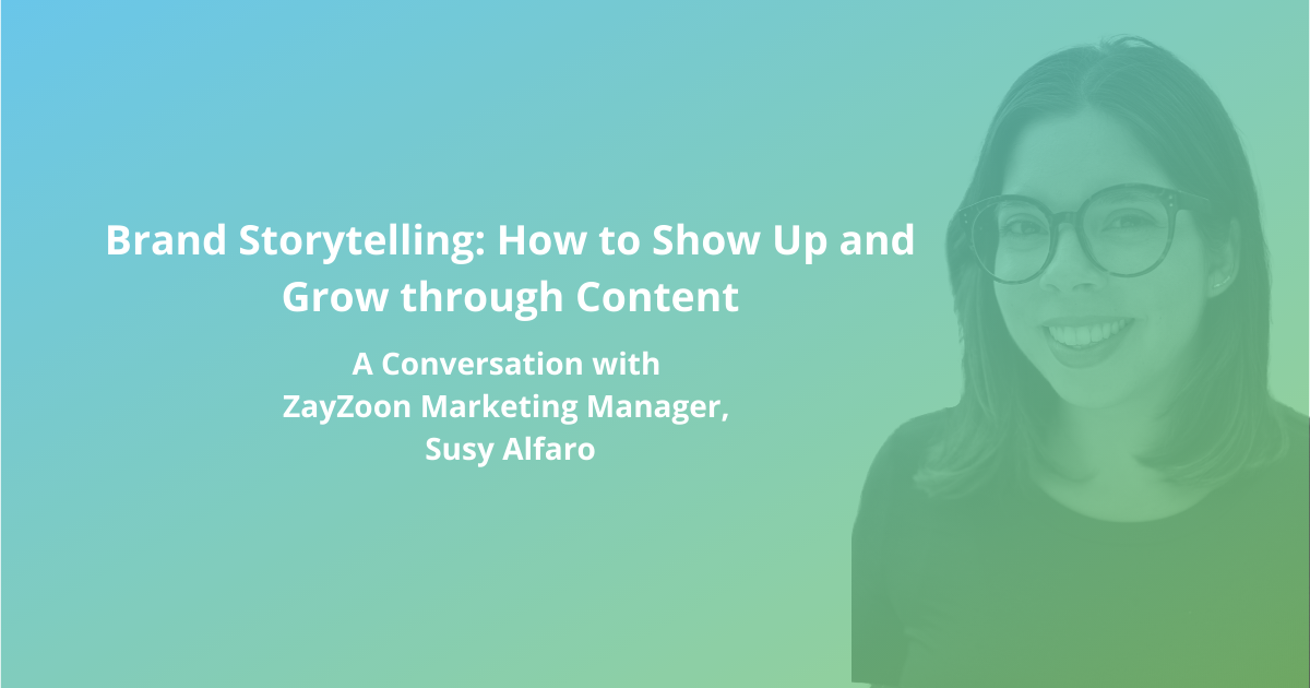 Brand Storytelling: A Conversation with Susy Alfaro