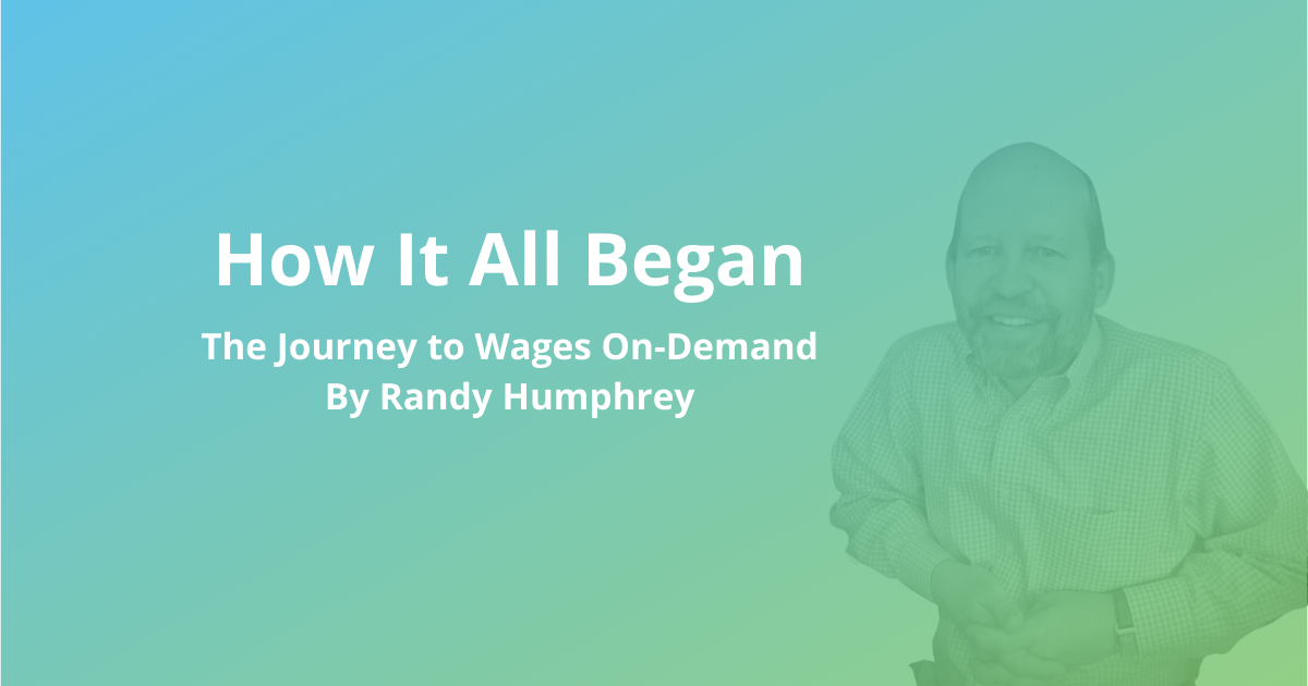 How It All Began: Randy's Story - with Randy Humphrey